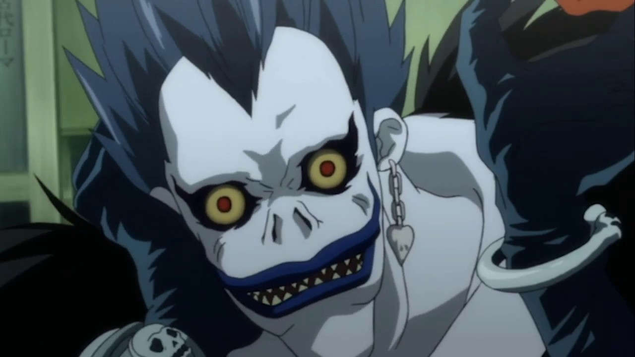 Death Note But It S Just Ryuk Eating Apples
