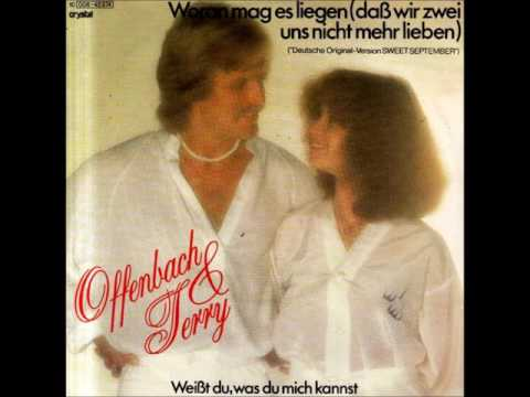 Woran mag es liegen (Daß wir zwei uns nicht mehr lieben) BERNADETTE OFFENBACH & HOLGER TERRY