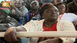 VIDEO: Angry Jubilee delegates protest over unpaid allowances