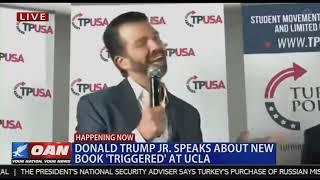 Triggered Donald Trump Jr. Featuring Charlie Kirk Turning Point USA at UCLA November 10 2019