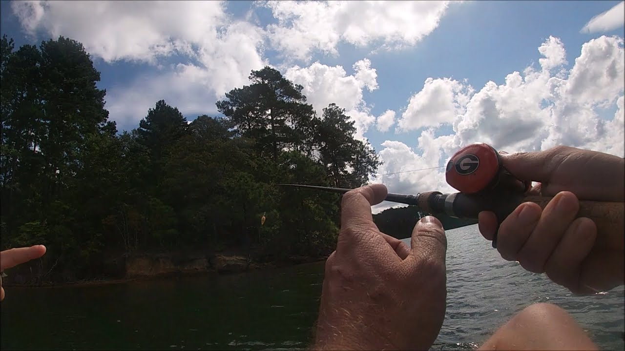 Camping at Dames Ferry State Park and Fishing Lake ...