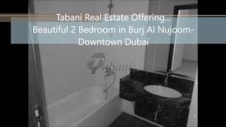 2 Bedroom in Burj Al Nujoom- Downtown