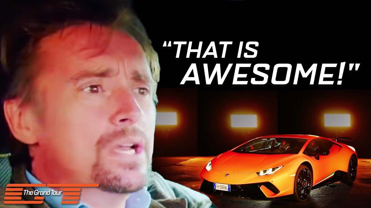 The Grand Tour: The Lamborghini Huracán Performante - YouTube