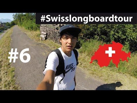 MONTHEY - MARTIGNY le long du Rhône   #Swisslongboardtour #6