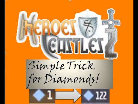 UNLIMITED DIAMONDS: Heroes And Castles 2