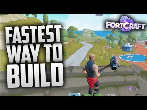 PREVIEW) Unreleased FortCraft on PC With Bluestacks N Beta