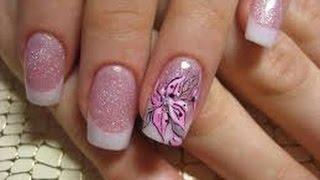 ❀Дизайн ногтей акриловыми красками/Простой дизайн ногтей❀