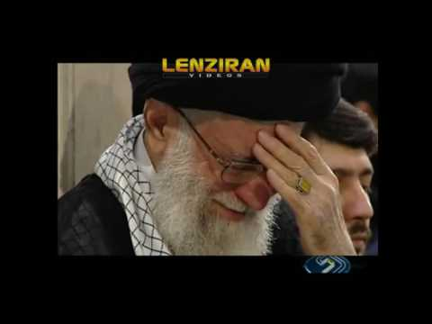 Ayatollah Khamenei  cry during mourning for Ali religious ceremony