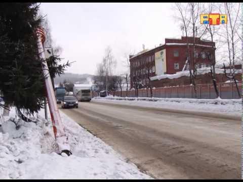 В аварии на перекрестке пострадал светофор
