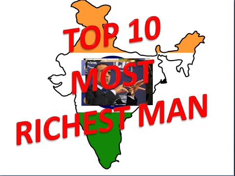 Top 10 Most Richest man in India 2015