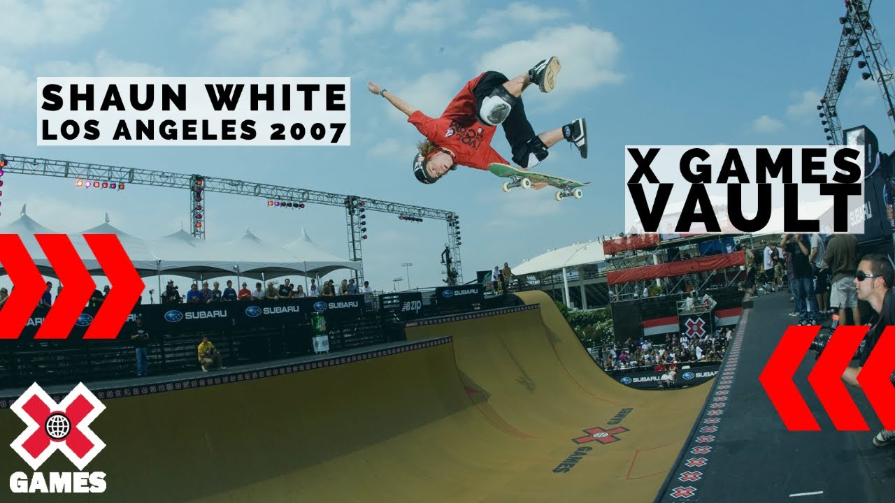 Shaun White's First Skateboarding Gold: X GAMES THROWBACK | World of X Games