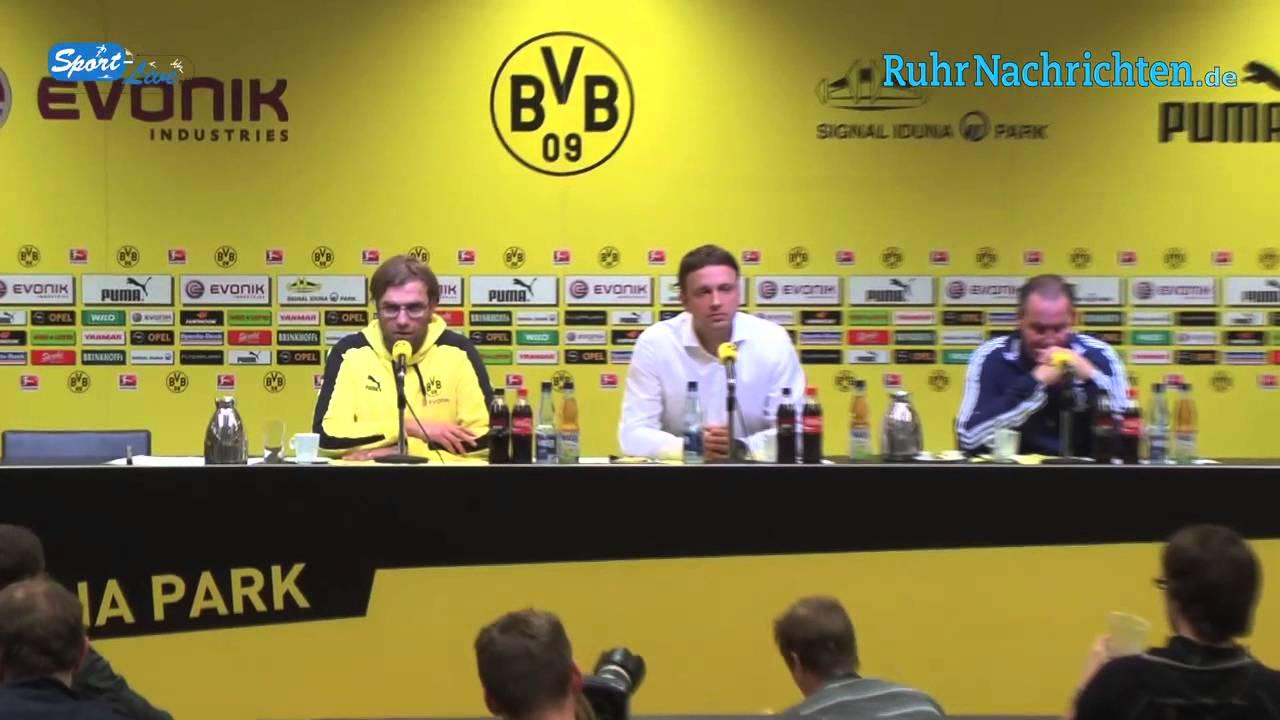 BVB Pressekonferenz vom 20. Oktober 2012 nach dem Spiel Borussia Dortmund - FC Schalke 04