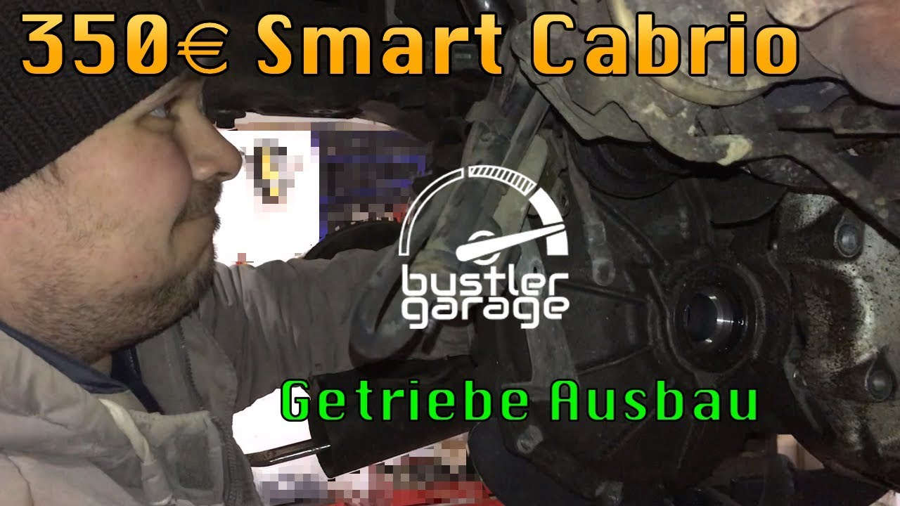 smart 450 fortwo cabrio teil 1 getriebe ausbauen youtube. Black Bedroom Furniture Sets. Home Design Ideas