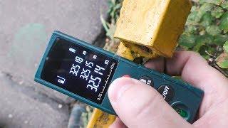видео электронный лазерный дальномер