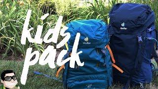 Backpacking with Children | Deuter Kids Backpack