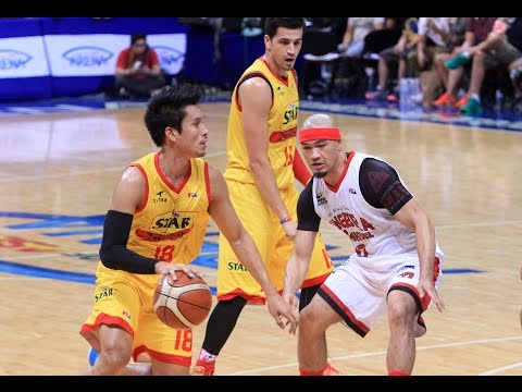 STAR VS. GINEBRA - Q4 | Philippine Cup 2015-2016