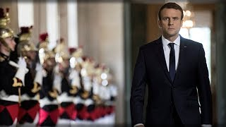Breaking: Imposter Macron's popularity plummets off the charts