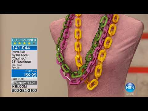 HSN | Rara Avis by Iris Apfel Jewelry 09.28.2017 - 06 PM