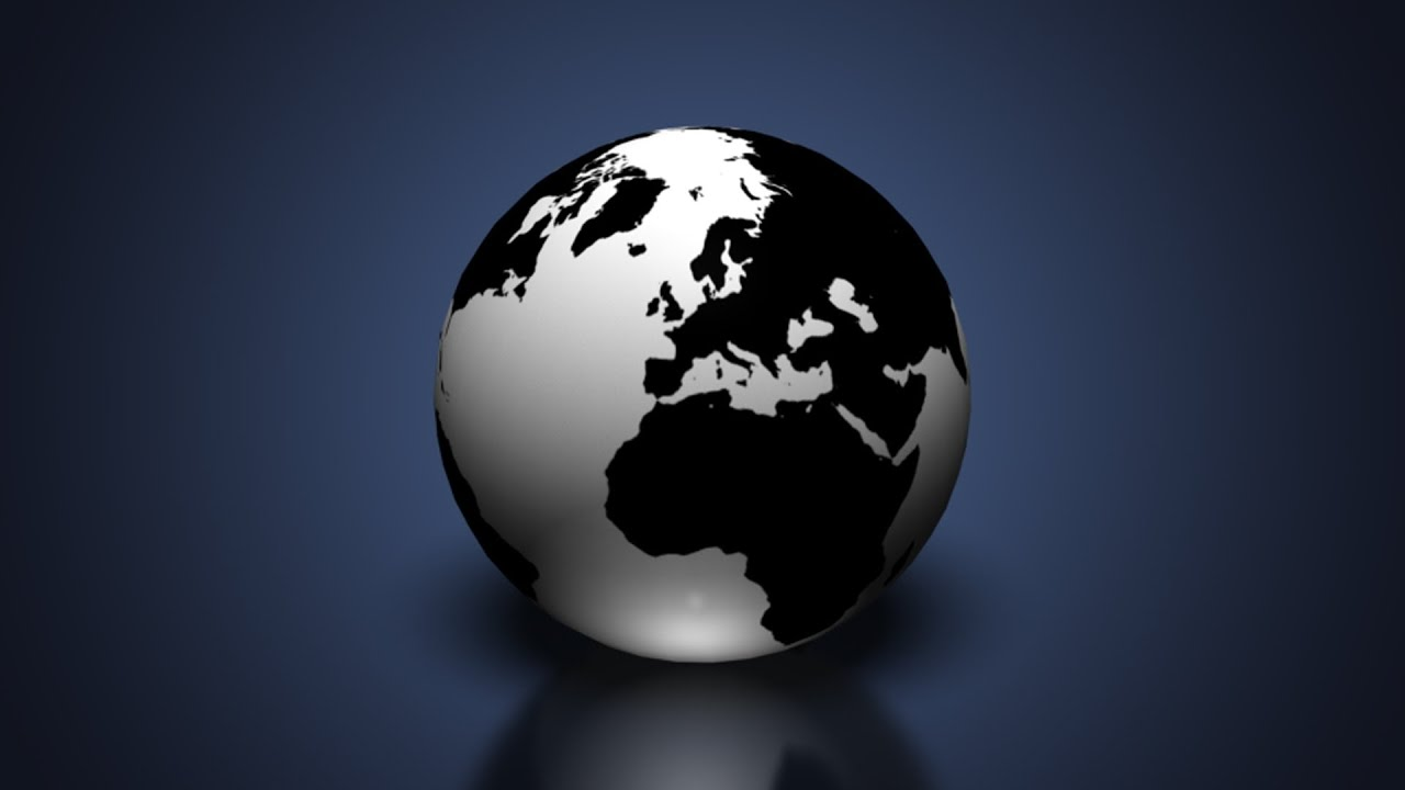 Create a 3d earth globe in photoshop cs6 extended youtube create a 3d earth globe in photoshop cs6 extended baditri Gallery