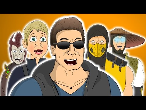 ♪ MORTAL KOMBAT X THE MUSICAL - Animated Parody Song