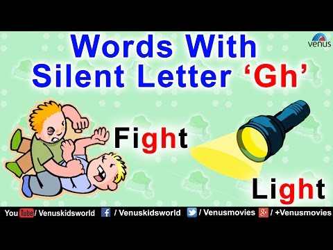 Words With Silent Letter 'Gh'