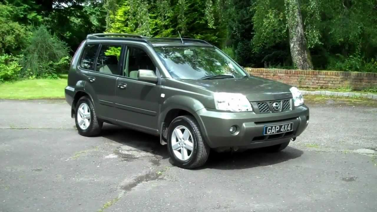 nissan x trail 2 5 dci sport 2004 04 www gap4x4 co uk 2 youtube. Black Bedroom Furniture Sets. Home Design Ideas