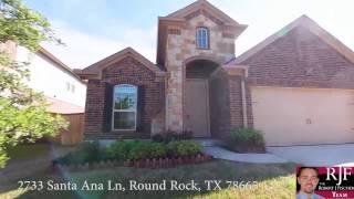 video tour of 2733 santa ana ln round rock tx 78665