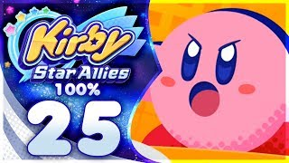 SIZZLING THREAT! The Ultimate Choice Boss Rush! Kirby Star Allies | Part 25!