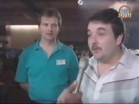 Phil Taylor and Rod Harrington Interview - 1991 BDO Winmau World Masters