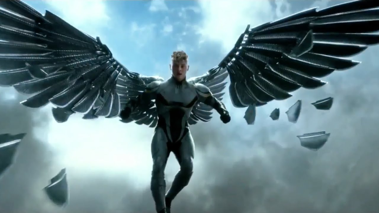 Angel X Men Apocalypse Official Character Spot 2016 Ben