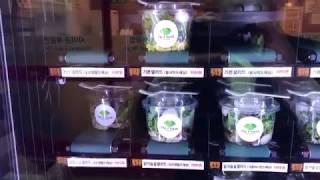 고픽 프랜즈 더샵샐러드 오늘의 샐러드 자판기 상황은? …