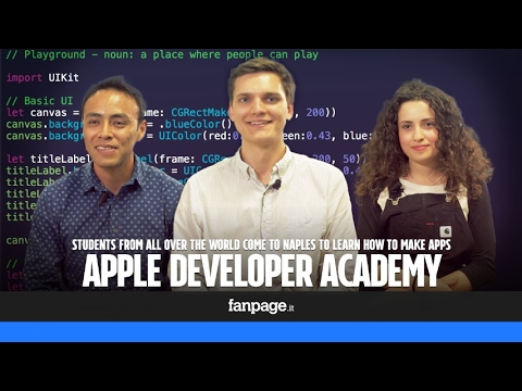 Apple Developer Academy: students from all over the world come to Naples to learn how to develop app