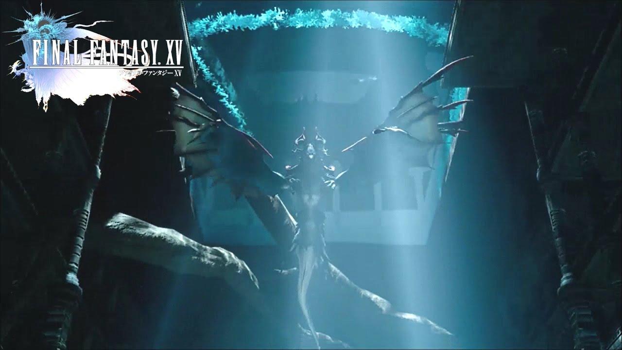 Final Fantasy XV (How To Beat Quetzalcoatl) Steyliff Grove Dungeon Boss  Battle