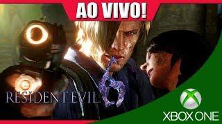 Resident evil 6 [LEON] (XBOX ONE) - Até Zerar  🔴 AO VIVO