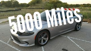 5000 miles review   2018 Dodge Charger 392 Scatpack