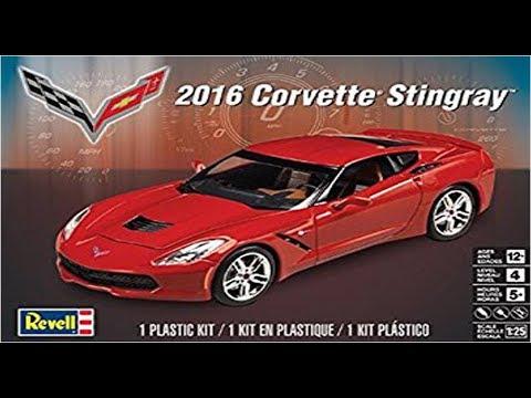 2017 Corvette Stingray >> How to Build the 2016 Corvette Stingray 1:25 Scale Revell ...