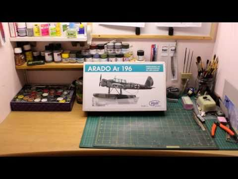 HpH 1/32 Arado Ar 196 and Ship's Catapult - An in-box review!