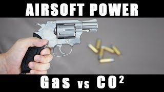 Airsoft Power Test / Gas powered Vs CO2