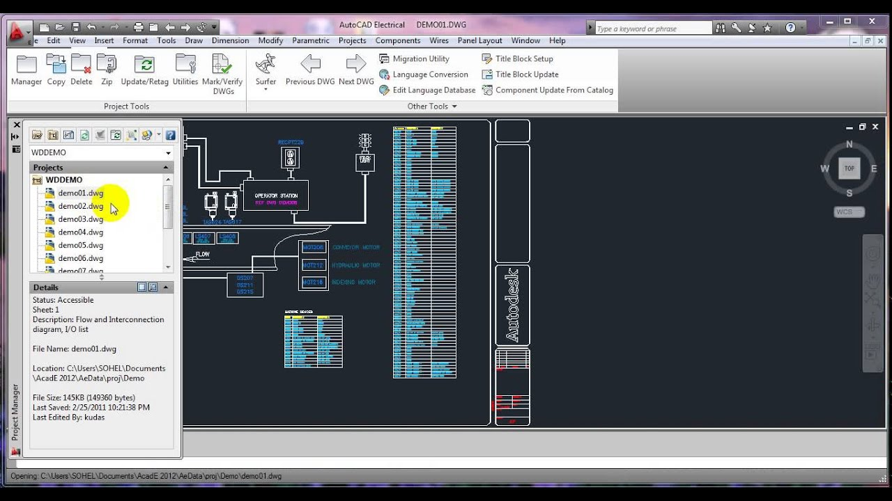 maxresdefault autocad electrical 2016 tutorial for beginners youtube autocad wiring diagram tutorial at bayanpartner.co