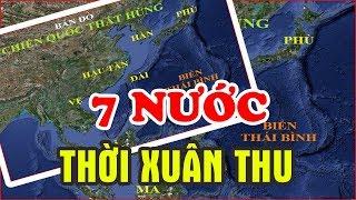 Số Phận Kinh Đô Của 7 Nước Thời CHIẾN QUỐC Hiện Giờ Ra Sao