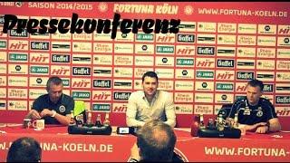 Die Pressekonferenz nach dem Heimsieg gegen Wehen Wiesbaden