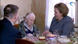 Ветеран Великой Отечественной войны Валентина Матвеевна Осипова отмечает 100-летний юбилей