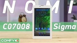 Nomi C07008 Sigma 7'' - планшет с телефонией за бесценок - Видео демонстрация
