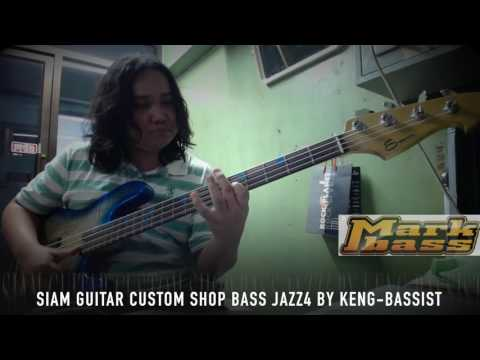 Siam Guitar CustomShop Bass Jazz4 by Keng-Bassist