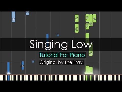 """Singing Low"" - The Fray (Piano Tutorial) - Niko Kotoulas"