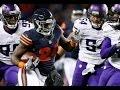Week 8: Chicago Bears beat Minnesota Vikings 20-10! Jordan Howard 202 total yards!
