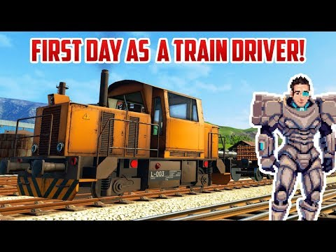 MY FIRST DAY AS A TRAIN DRIVER | Derail Valley |