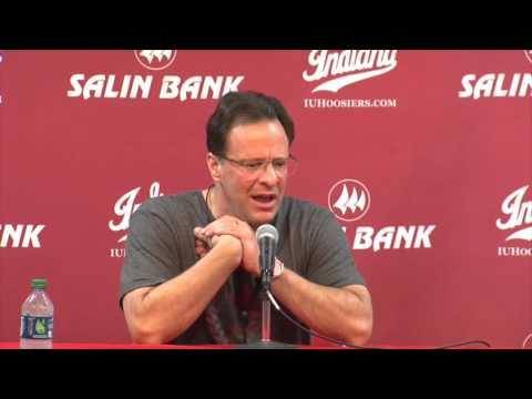 Indiana Basketball Coach Tom Crean 3/9/16