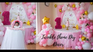 5 Diy Baby Shower Or Baby Girl Birthday Decor Step By Step Tutorial Youtube