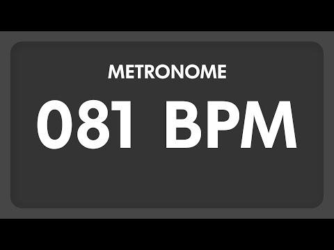 81 BPM - Metronome